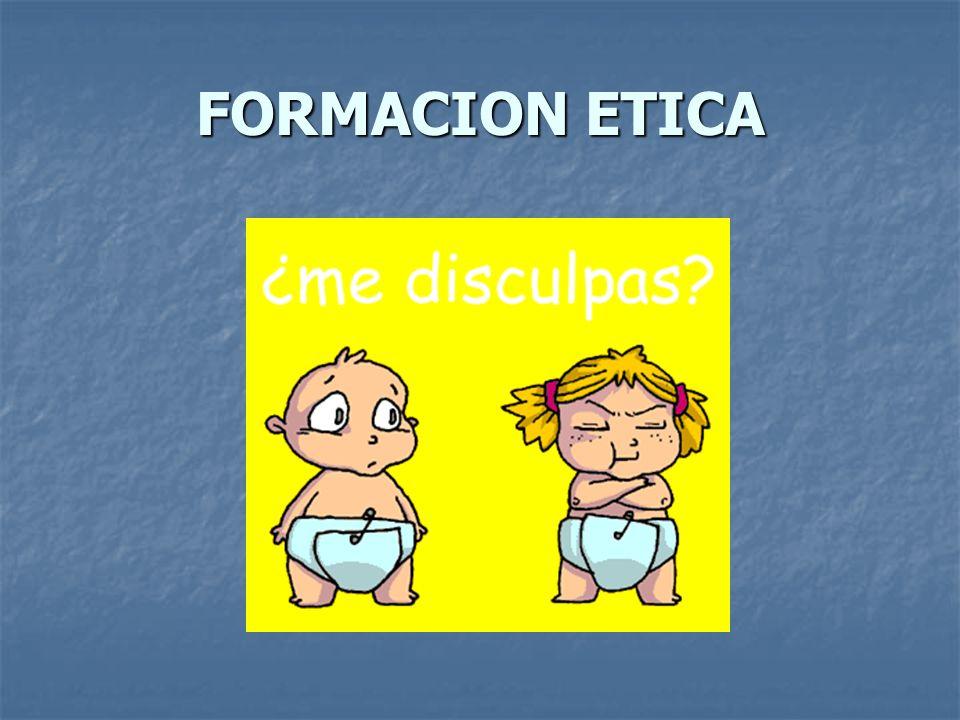 FORMACION ETICA