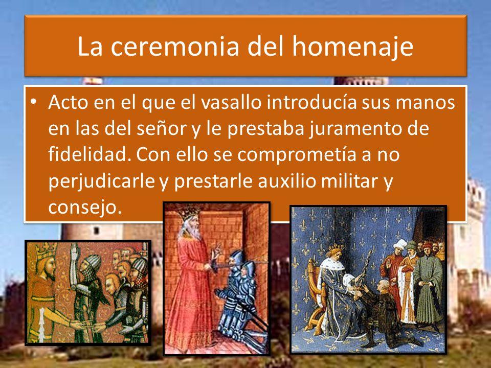 La ceremonia del homenaje