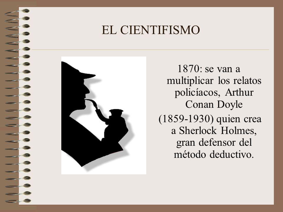 1870: se van a multiplicar los relatos policíacos, Arthur Conan Doyle