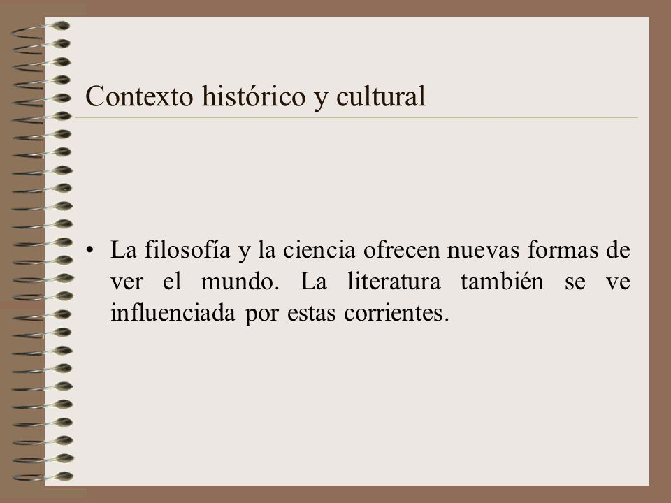 Contexto histórico y cultural