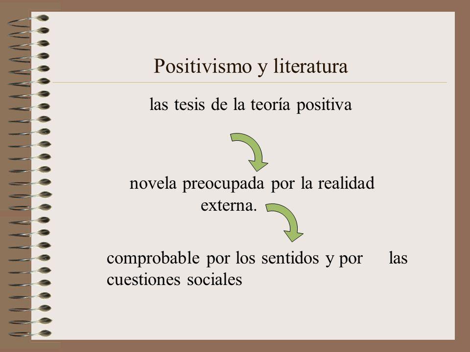 Positivismo y literatura