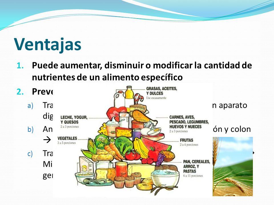 Alimentos transg nicos mitos o realidades ppt video online descargar - Ventajas alimentos transgenicos ...