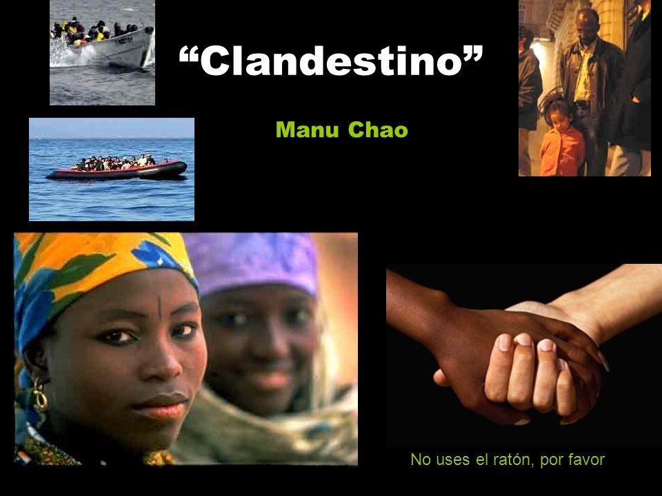 Clandestino Manu Chao No uses el ratón, por favor