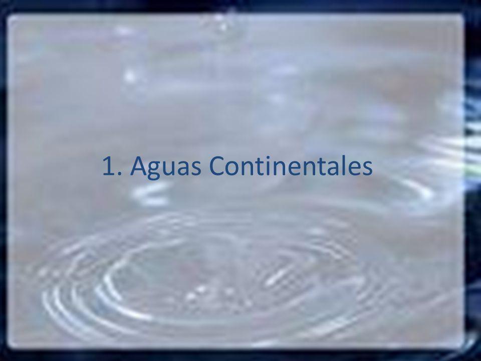 1. Aguas Continentales