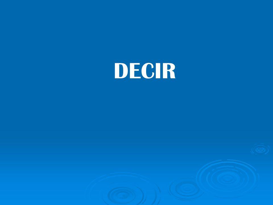 DECIR