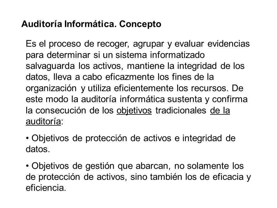 Auditoría Informática. Concepto