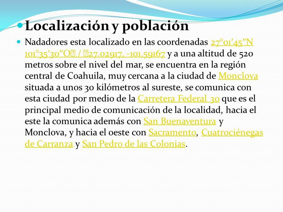 Localización y población