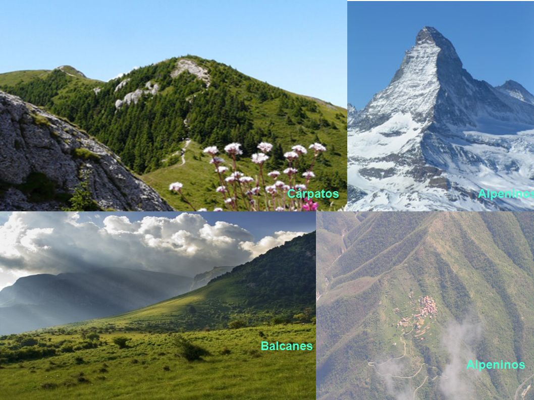Cárpatos Alpeninos Balcanes Alpeninos