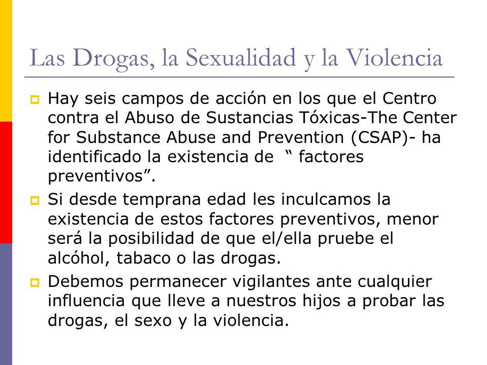 Las Drogas, la Sexualidad y la Violencia