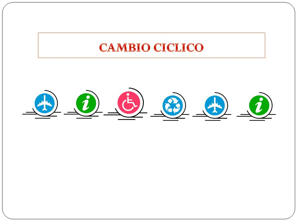 CAMBIO CICLICO