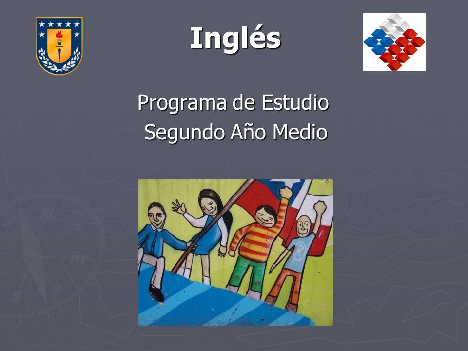 Inglés Programa de Estudio Segundo Año Medio
