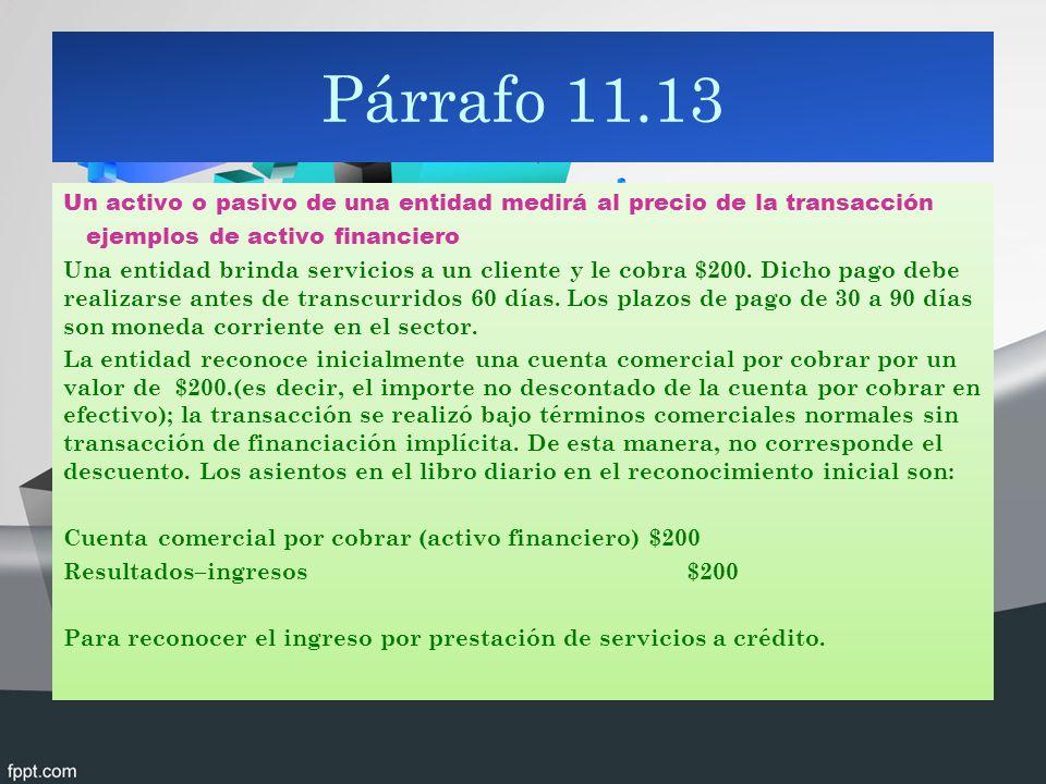 Párrafo 11.13