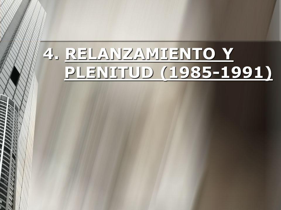 4. Relanzamiento y plenitud (1985-1991)