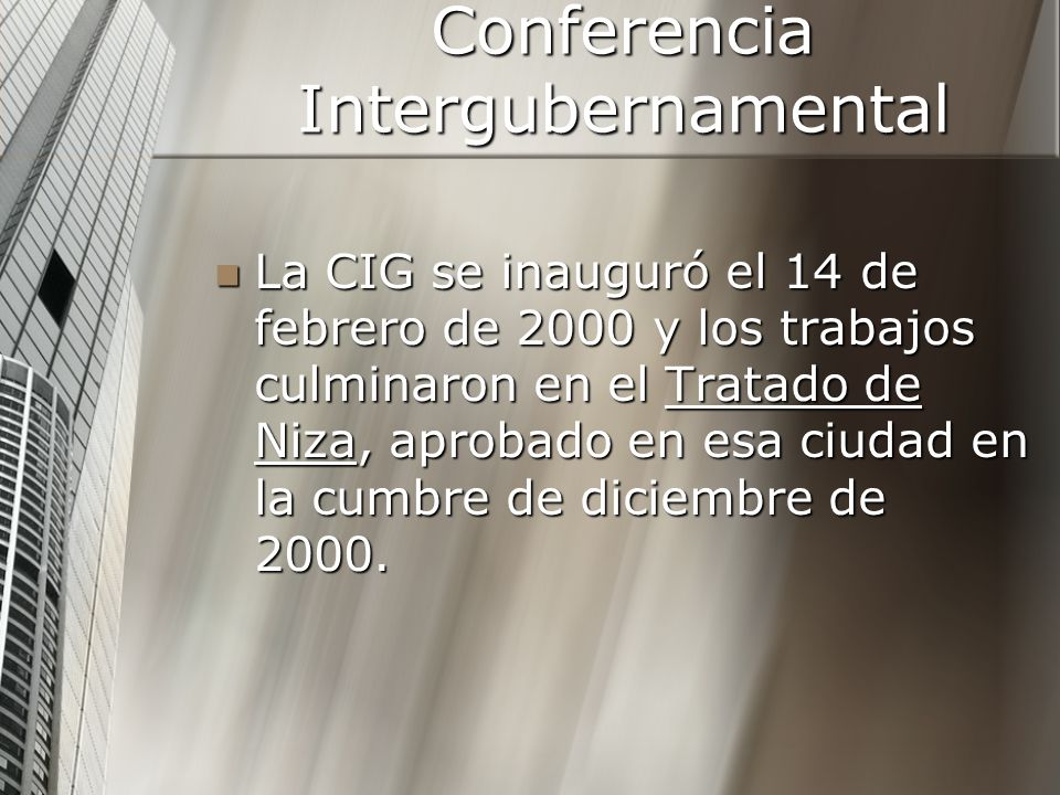 Conferencia Intergubernamental