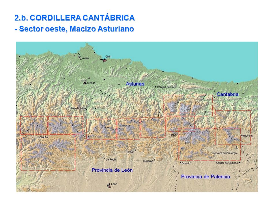 2.b. CORDILLERA CANTÁBRICA