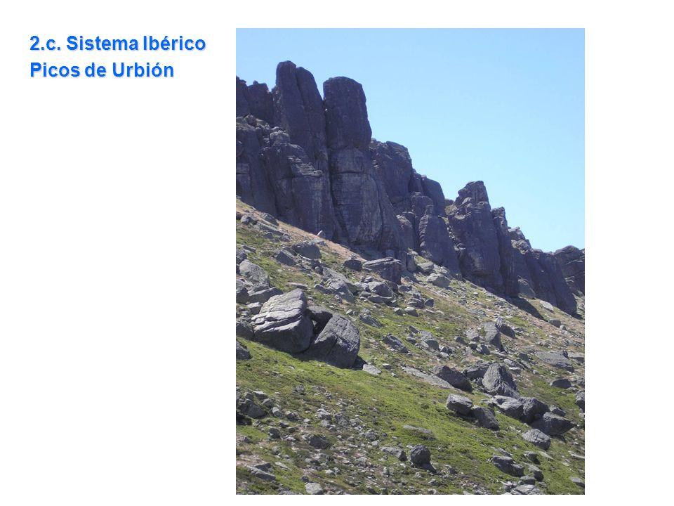 2.c. Sistema Ibérico Picos de Urbión