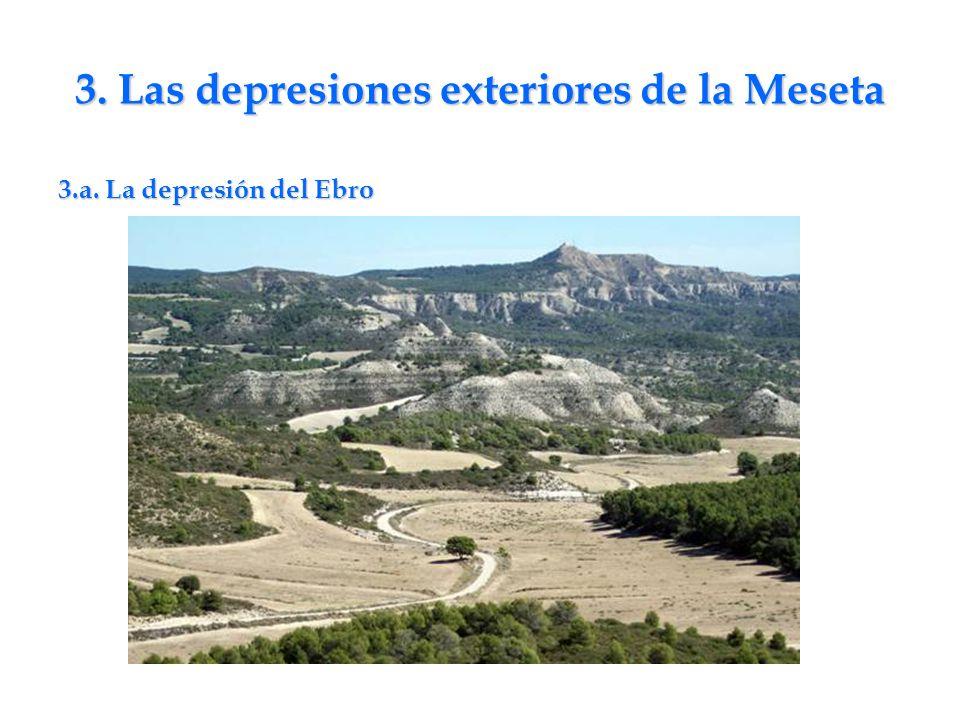 3. Las depresiones exteriores de la Meseta
