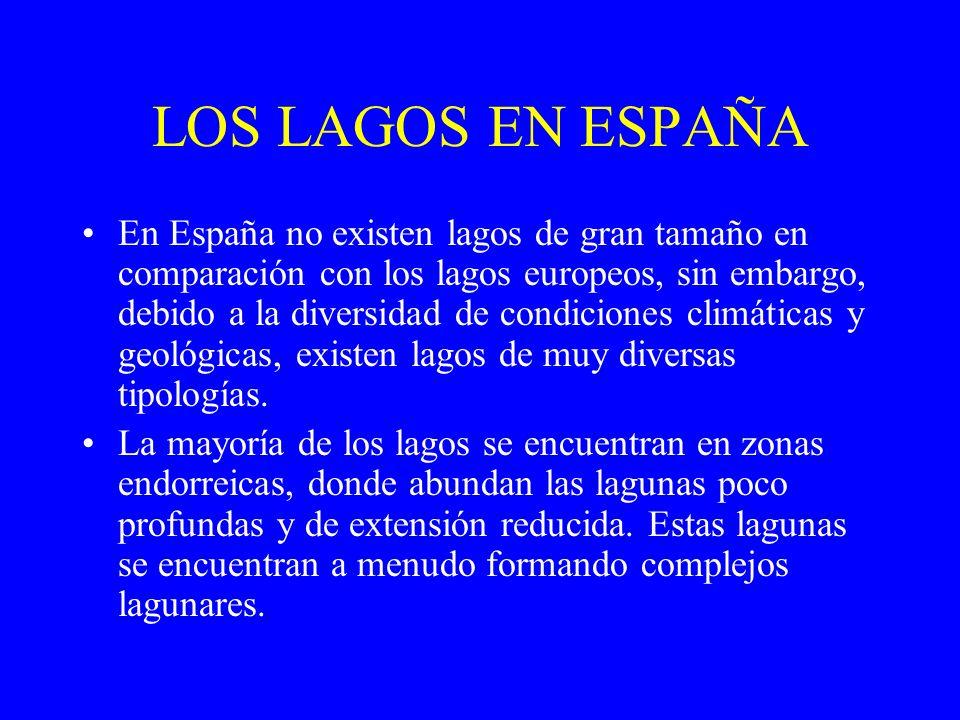 LOS LAGOS EN ESPAÑA