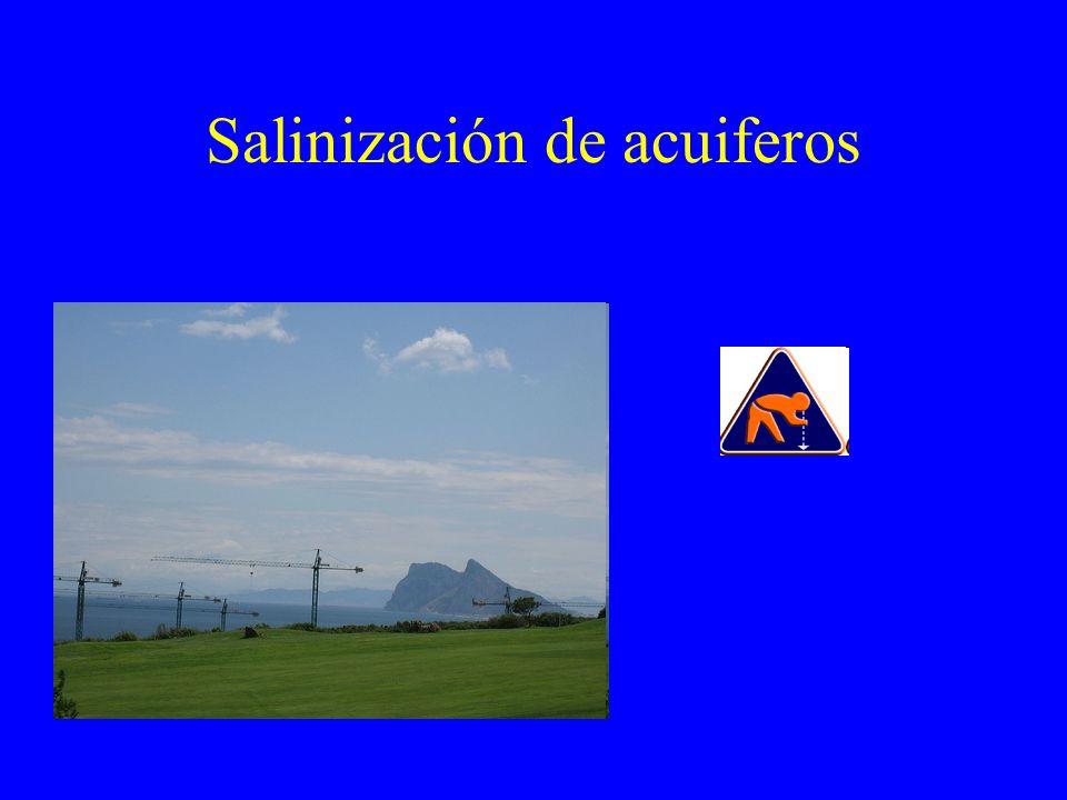 Salinización de acuiferos