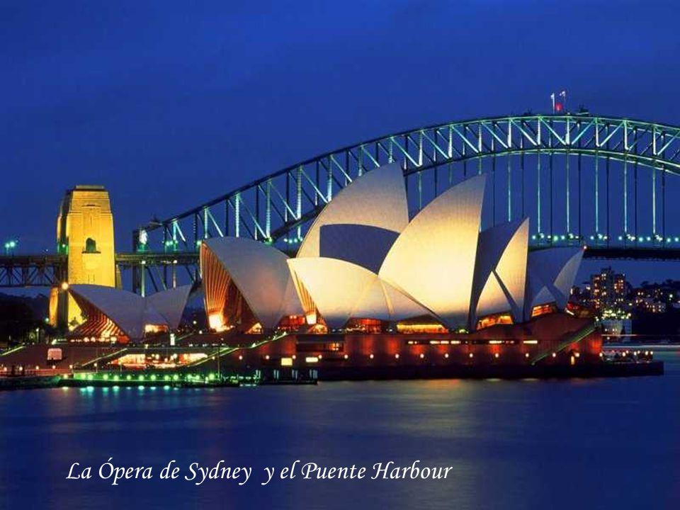 La Ópera de Sydney y el Puente Harbour