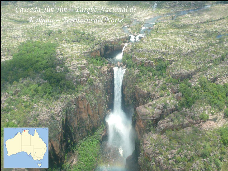 Cascada Jim Jim – Parque Nacional de Kakadu – Territorio del Norte