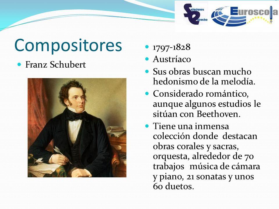 Compositores 1797-1828 Austríaco