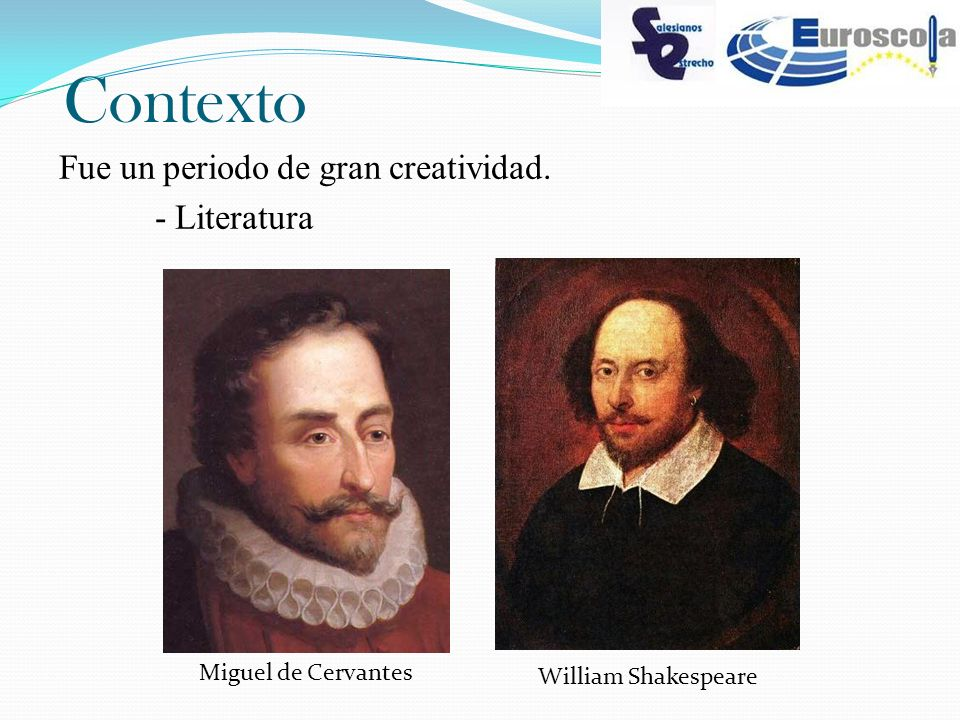 Contexto Fue un periodo de gran creatividad. - Literatura