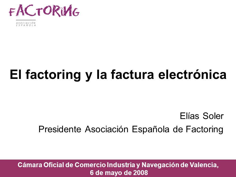 El factoring y la factura electrónica
