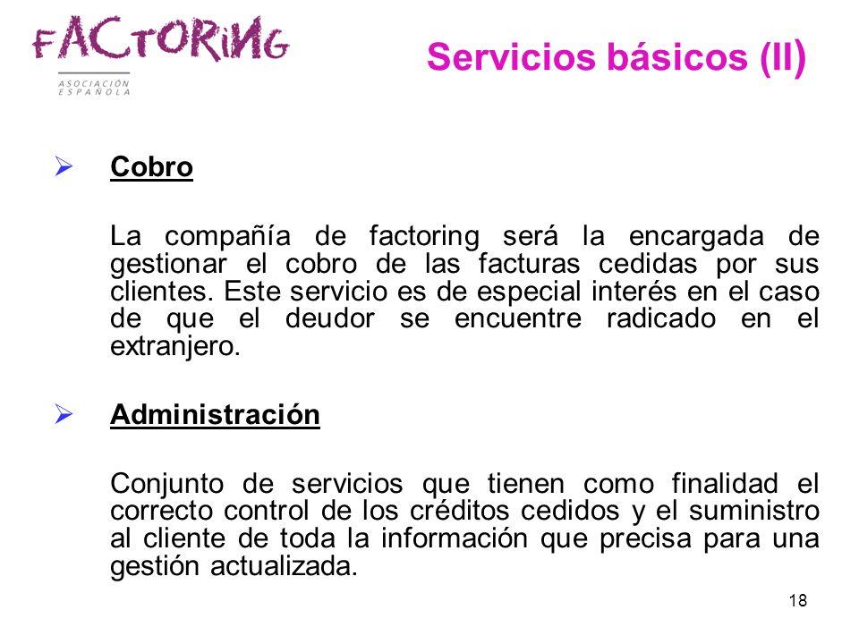 Servicios básicos (II)