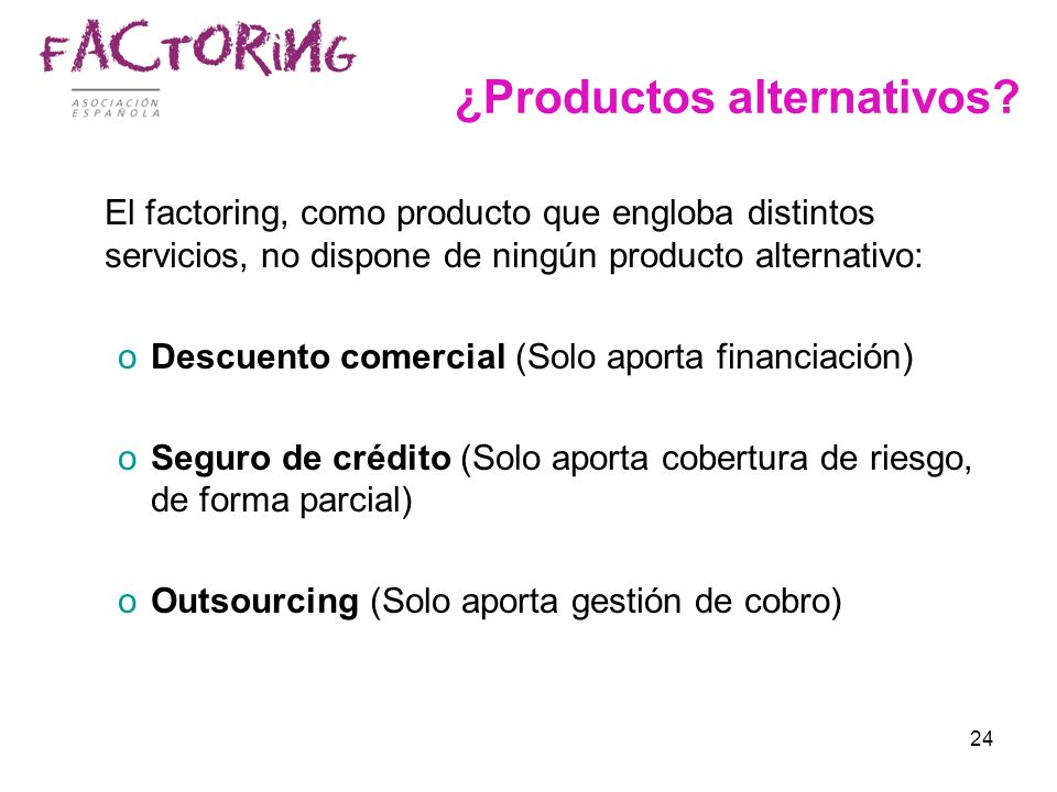 ¿Productos alternativos