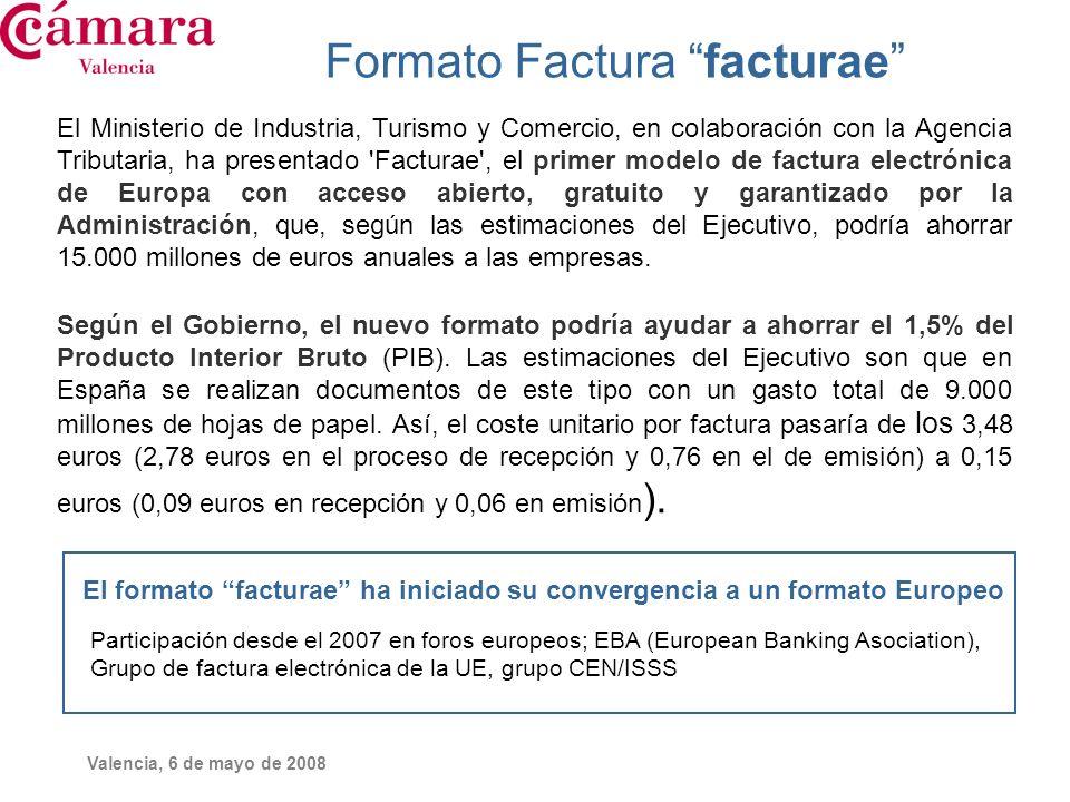 Formato Factura facturae