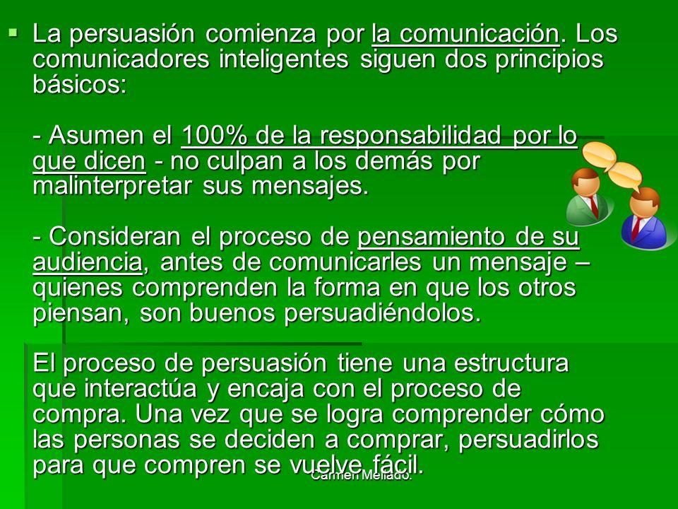 La persuasión comienza por la comunicación
