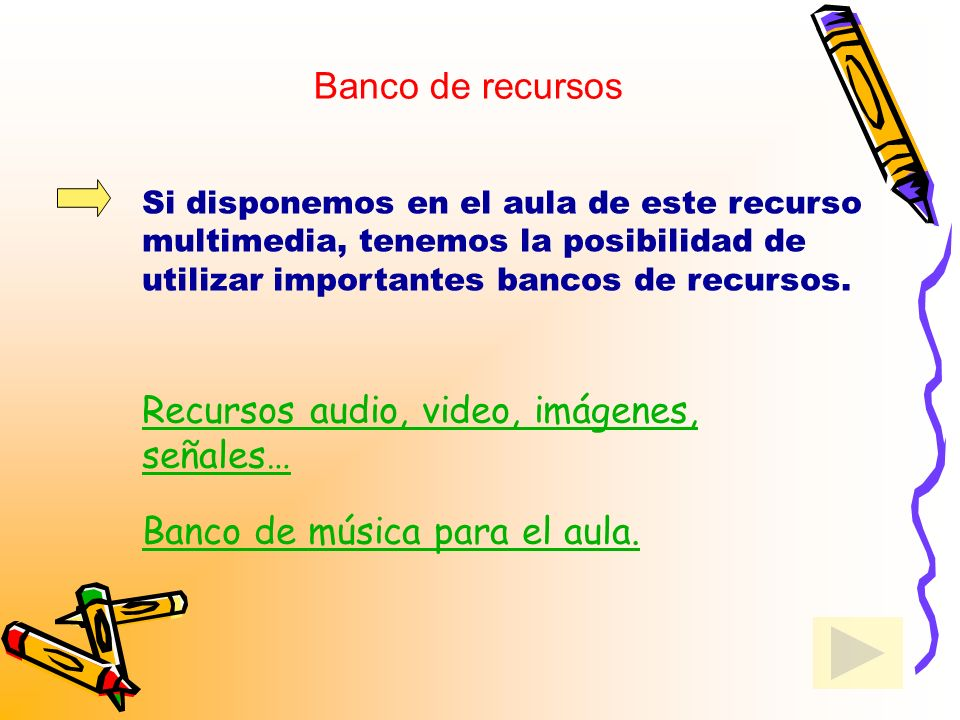 Recursos audio, video, imágenes, señales…