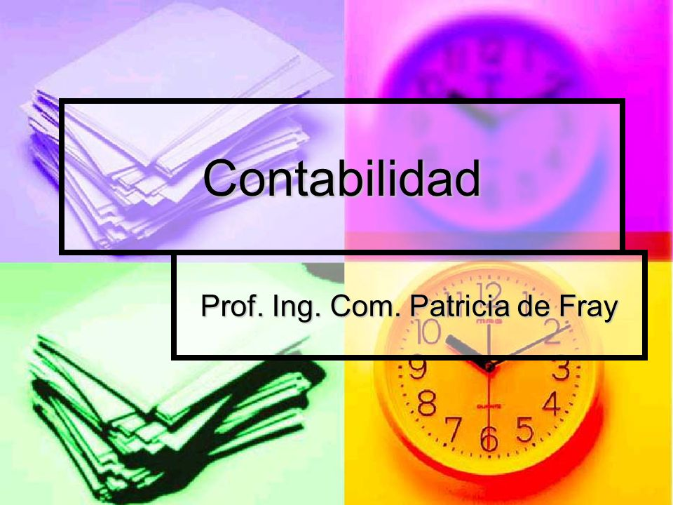 Prof. Ing. Com. Patricia de Fray