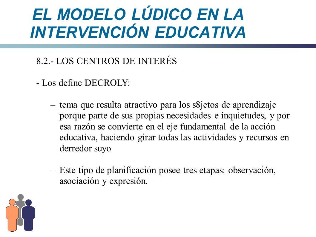 El modelo l dico en la intervenci n educativa ppt descargar for La accion educativa en el exterior
