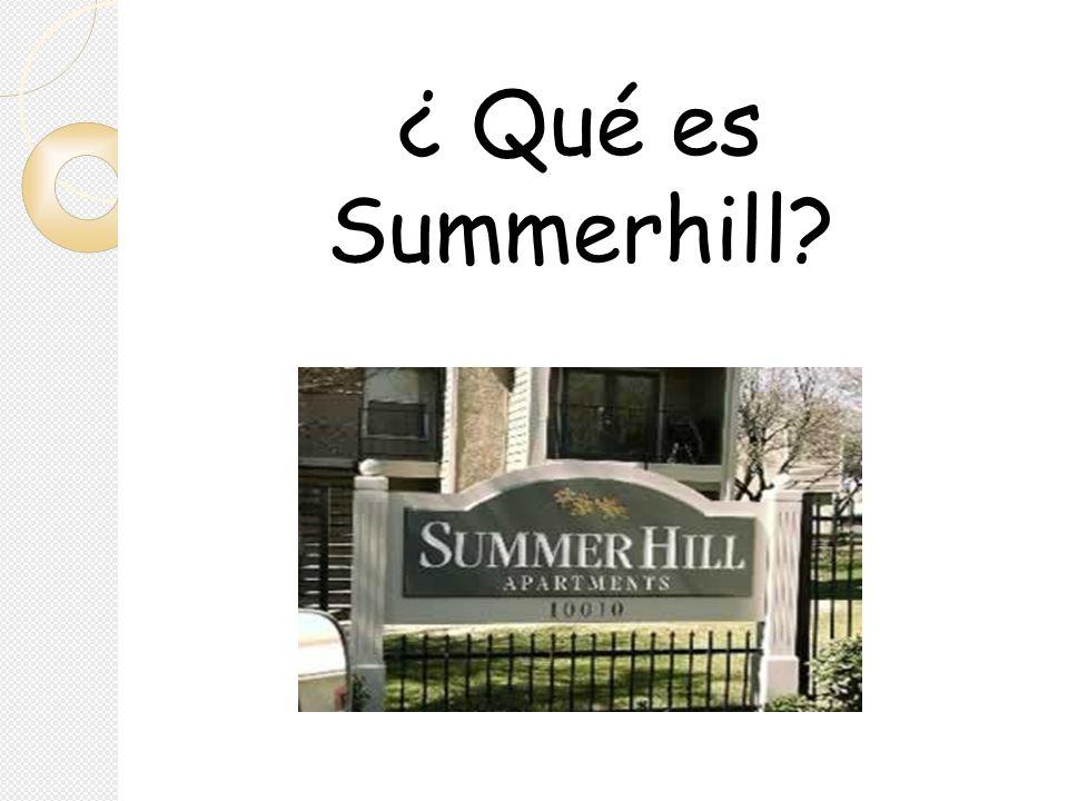 ¿ Qué es Summerhill