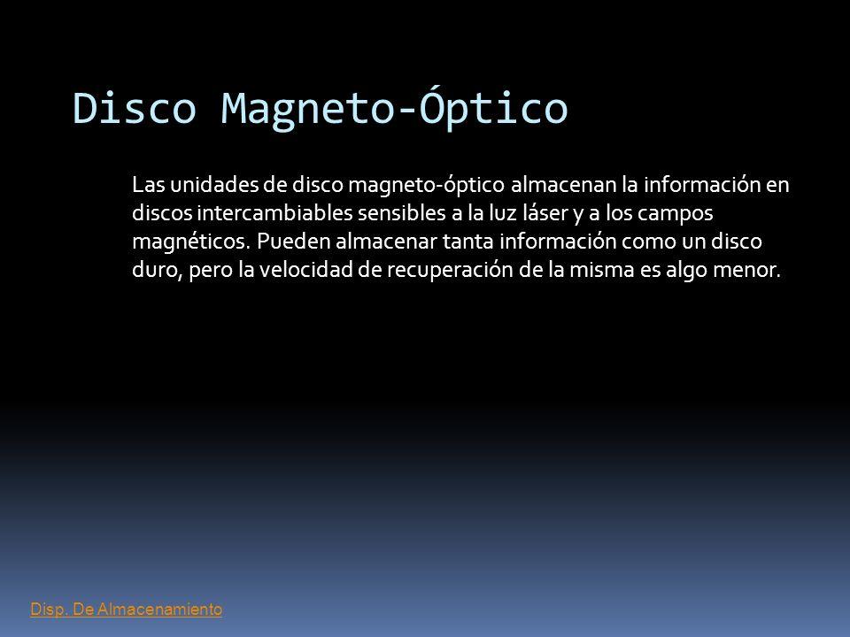 Disco Magneto-Óptico