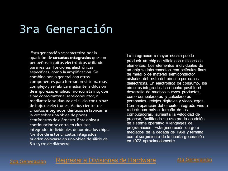 3ra Generación