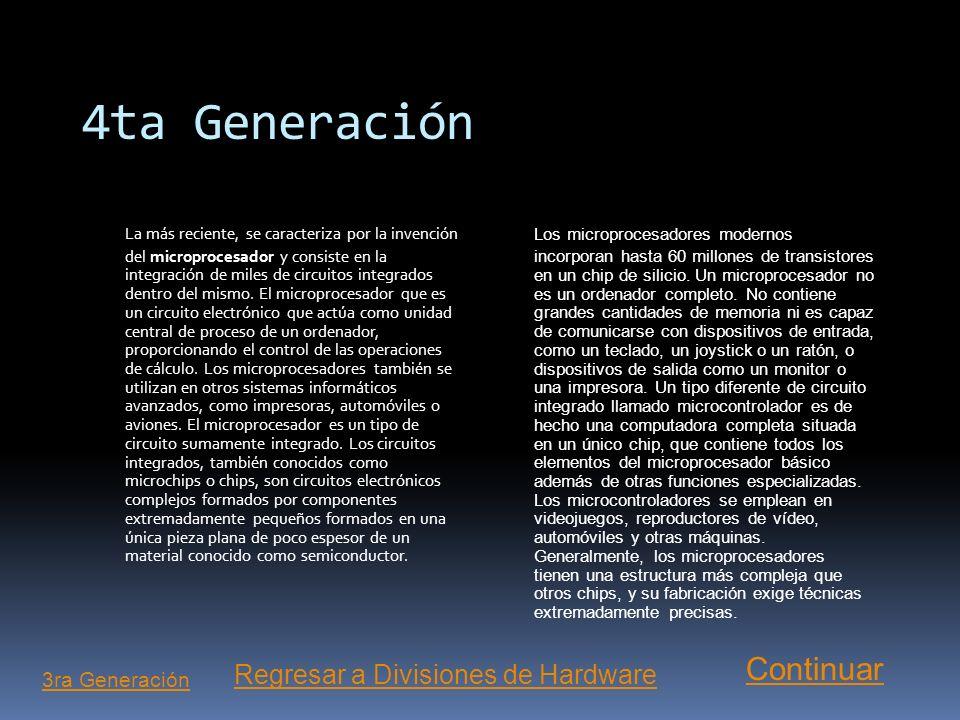 4ta Generación