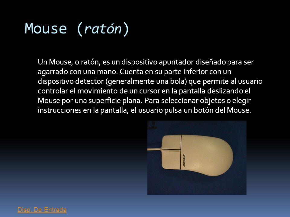 Mouse (ratón)