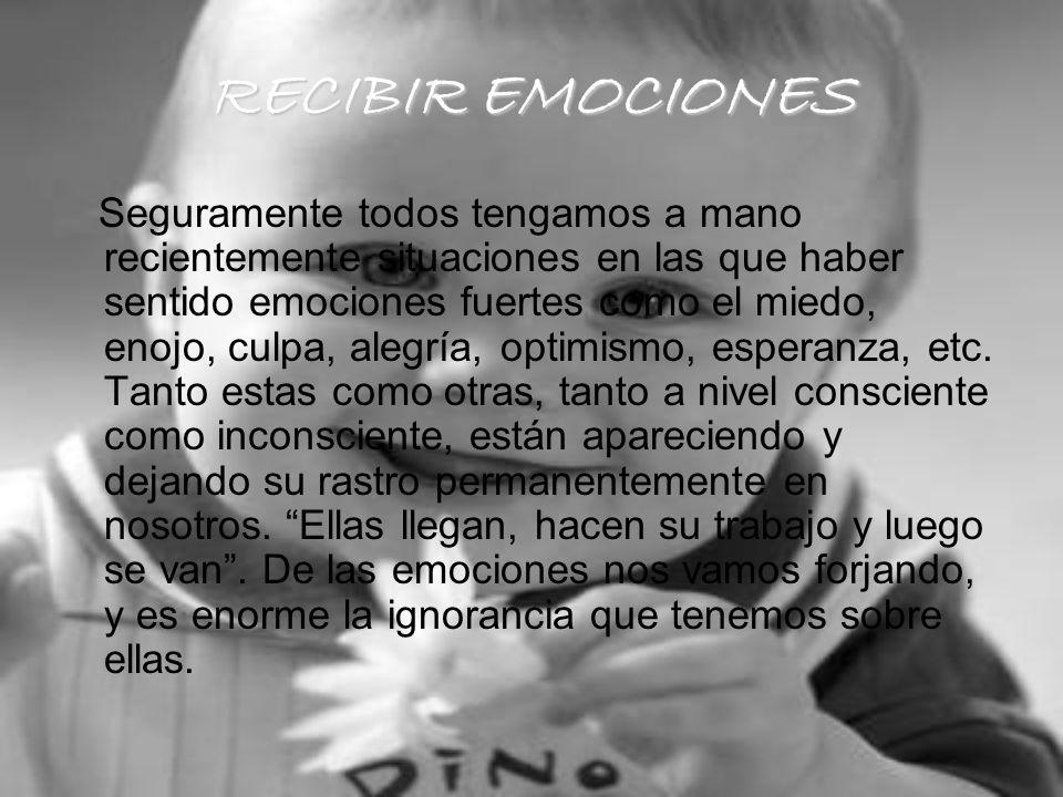 RECIBIR EMOCIONES