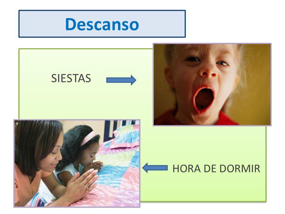 Descanso SIESTAS HORA DE DORMIR