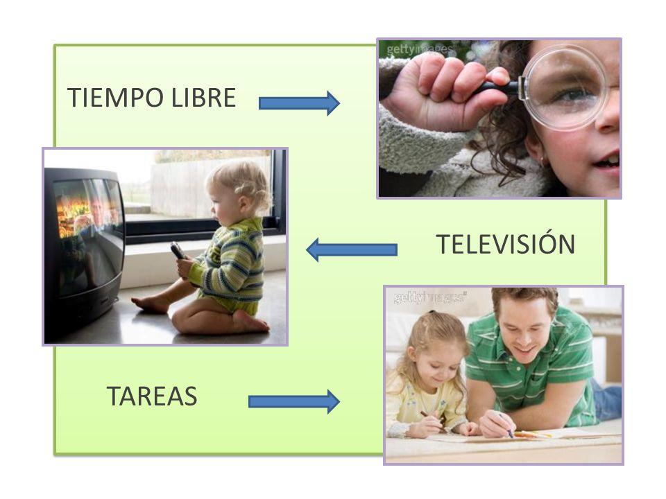 TIEMPO LIBRE TELEVISIÓN TAREAS