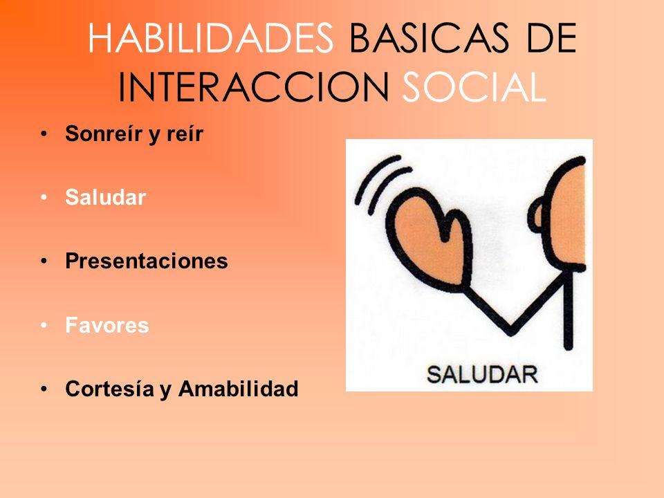 HABILIDADES BASICAS DE INTERACCION SOCIAL