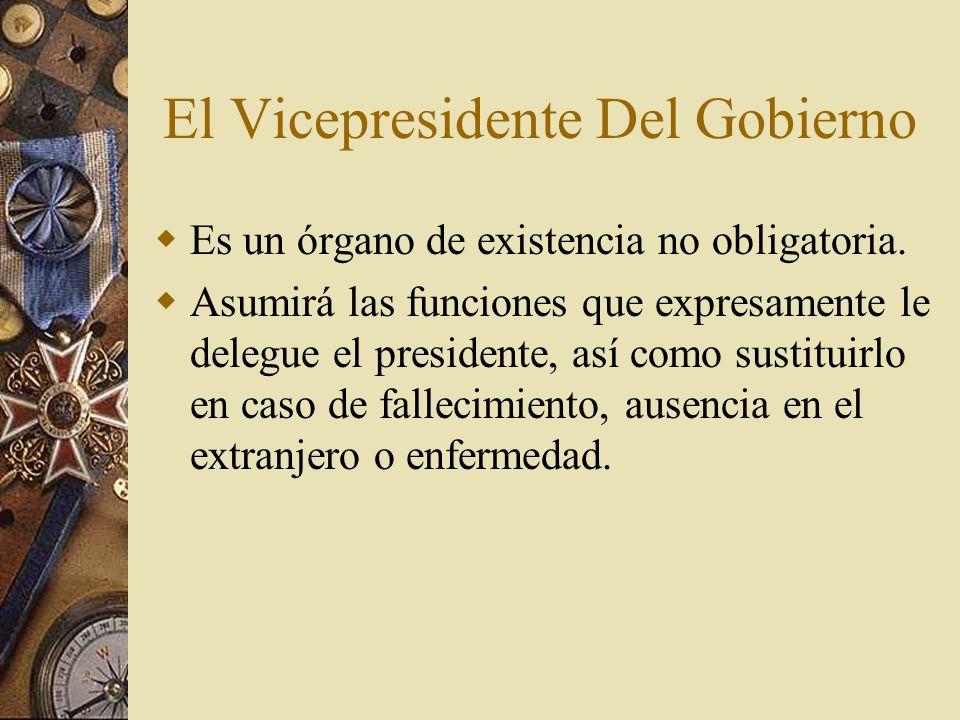 El Vicepresidente Del Gobierno