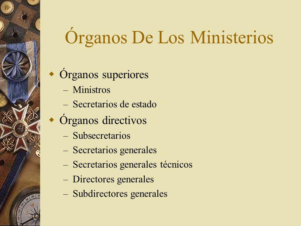 Órganos De Los Ministerios