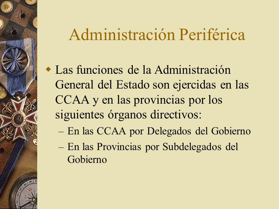 Administración Periférica