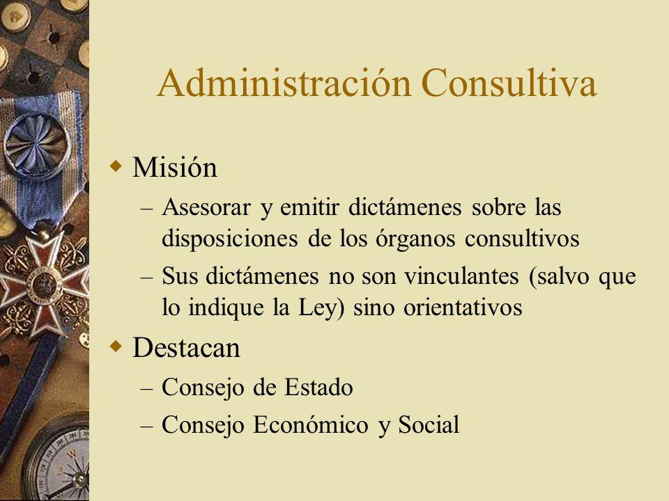 Administración Consultiva