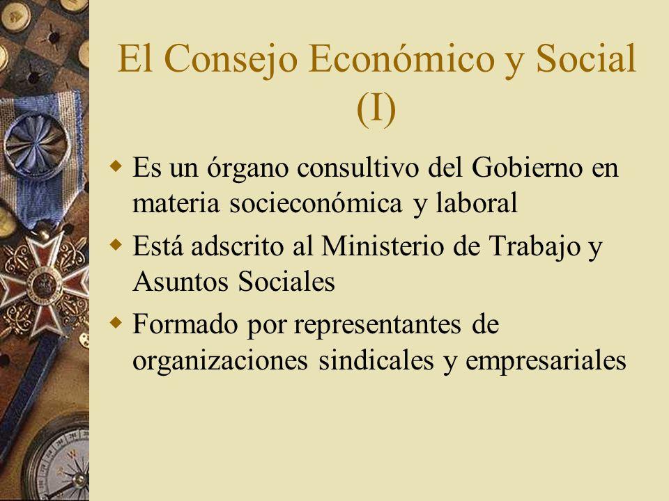 El Consejo Económico y Social (I)