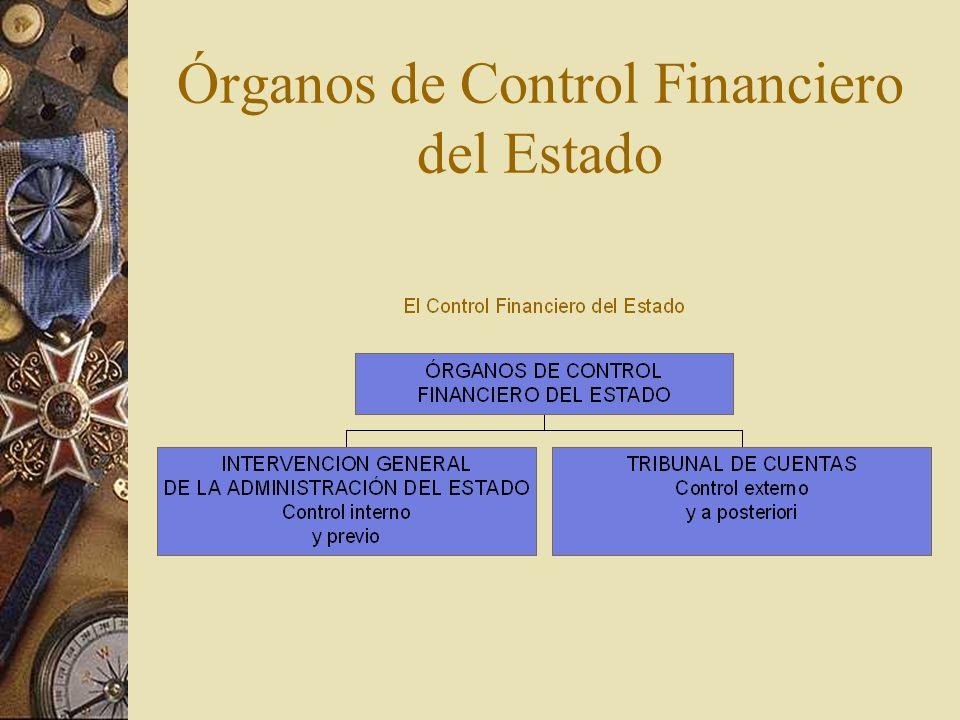 Órganos de Control Financiero del Estado
